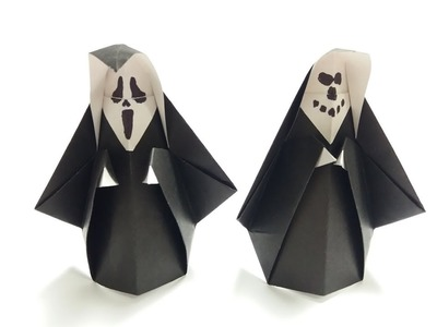 How to make: Origami Hooded Ghost
