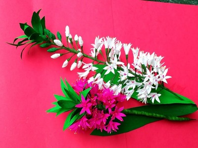 How to make paper flowers Pineapple Lily \ Eucomis (flower # 184)