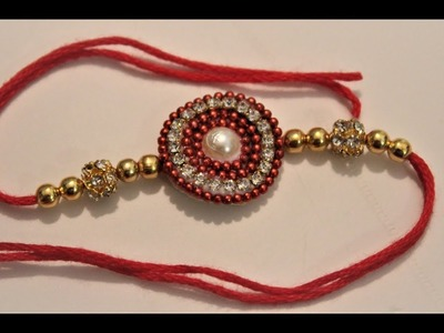 How to make rakhi at home for raksha bandhan Festival. Easy rakhi