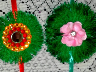 How to Make Rakhi at Home For Raksha Bandhan Festival.Rakhi Making With Silk Thread. Rakhi making