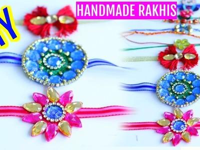 How To Make Rakhi At Home For Rakshabandhan Tutorial | SuperPrincessjo