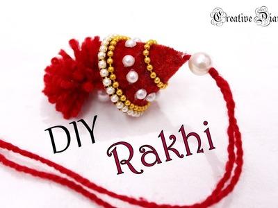 How to make rakhi at home I Fancy Rakhi I Rakhi for Bhabhi I Raksha bandhan I DIY I Creative Diaries