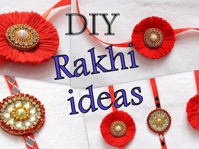 How to make rakhi at home | raksha bandhan rakhi ideas I tutorial I Creative Diaries