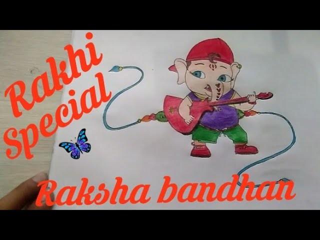 How to make rakhi at home || Raksha bandhan || art and photography || step by step ||