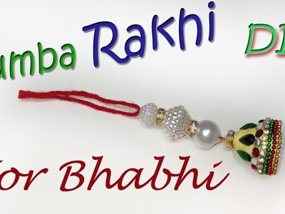 How to make rakhi for bhabhi at home paper rakhi | lumba rakhi |Chuda Rakhi | Art With Creation