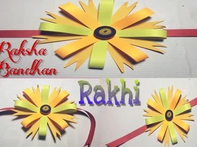 How to make Rakhi for Raksha Bandhan || Rakhi making at home || bracelet Rakhi very easy and simple