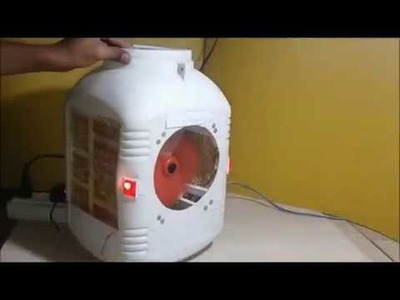 How to Make Simple Air Coolr USE Waste Material at Home
