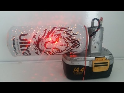 How to Make Star Projector from cans and LEDs