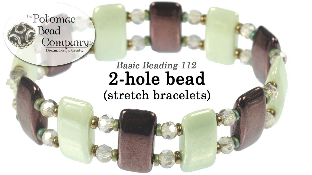 how to make stretch bracelets with connectors