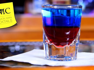 ???????? How To Make The Red, White & Blue Shot | The 4th of July | Independence Day Cocktails