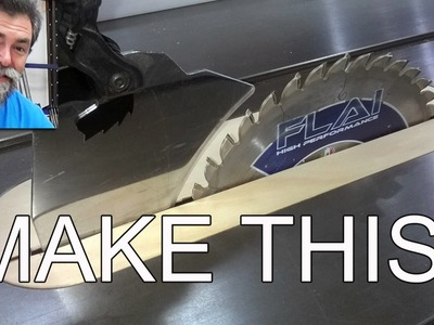 How to make this clever table saw insert dave stanton woodworking