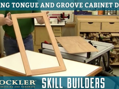 How to Make Tongue and Groove Cabinet Doors | Rockler Skill Builders