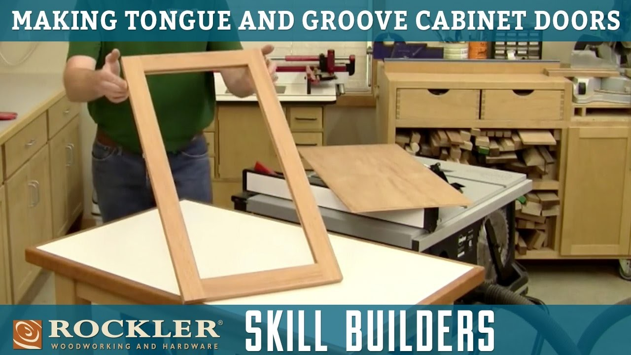 How to Make Tongue and Groove Cabinet Doors, Rockler Skill