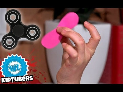 How to Make Your Own Fidget Spinners! | Maggie Makes