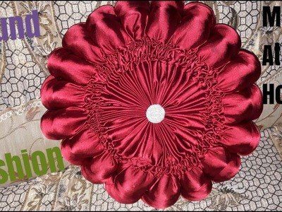 How to prepare  smoking decorative  cushion at home.diy cushion project