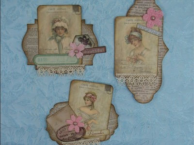 How to use layered embellishments in your junk journal