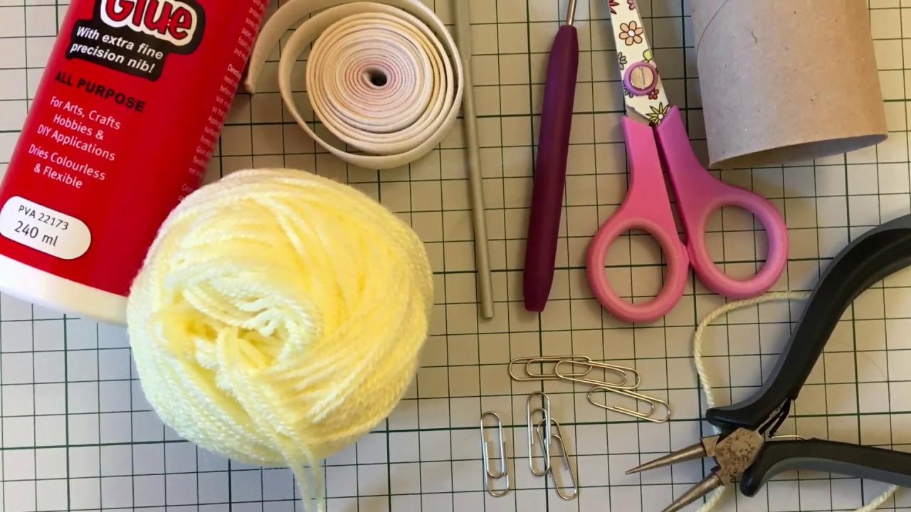 Knitting Nancy.French Knitting Doll.