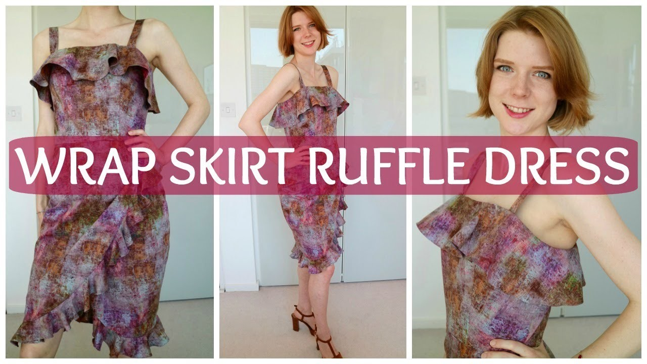 Liberty Print Ruffle Dress & How to Add a Flounce