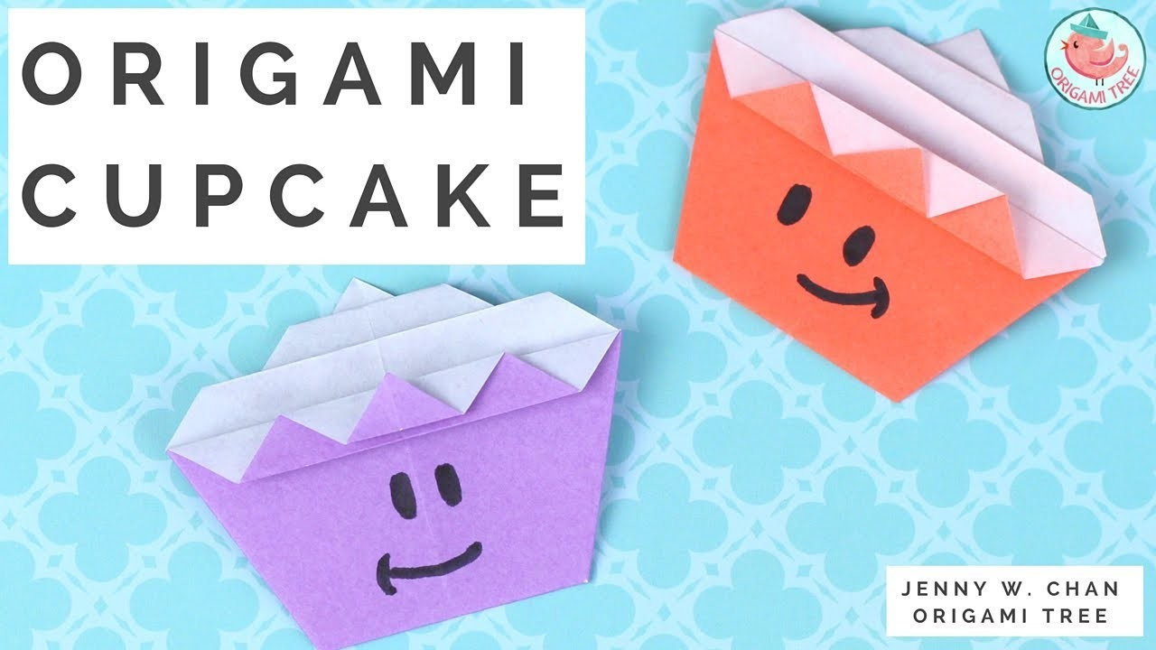 how to make an origami cupcake 28 images how to make