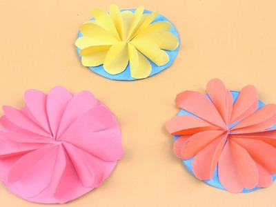 Origami Paper Origami Flower Decoration Tutorial Diy Paper Origami