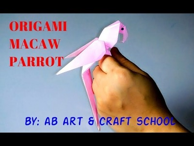 Origami Macaw Parrot | How to Make Origami Macaw Parrot | Origami Easy Full Tutorial