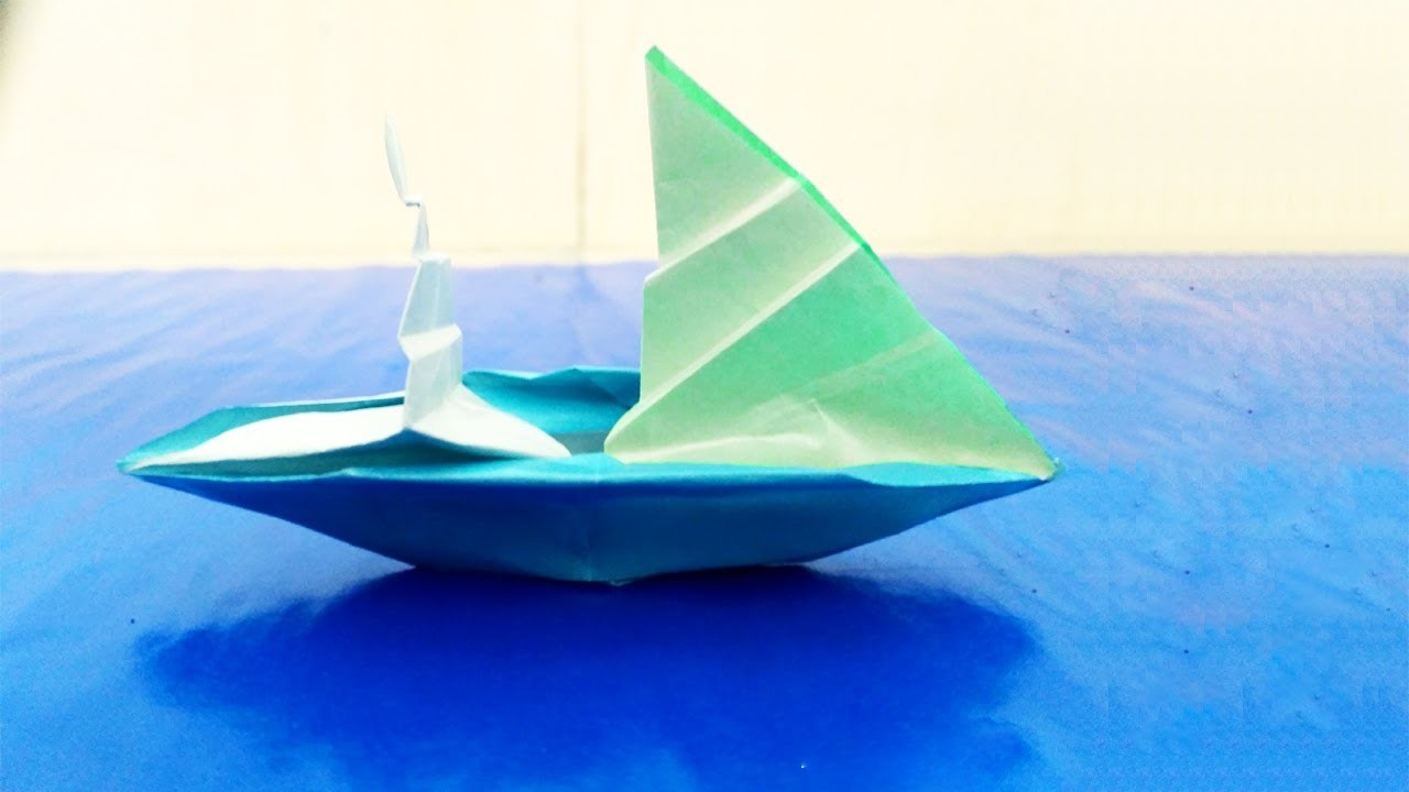 Paper Boat Origami How To Make An Origami Boat That Floats Origami Boat Instructions