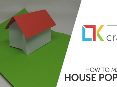 Pop up #1 - How to make a paper house pop up