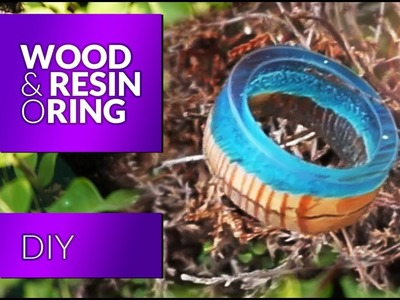 Resin wood ring How to make Secret Wood Ring