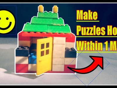Simple How to Make Toy House with Lego Puzzles | Lego house creation | Faded Alan Walker Video Music
