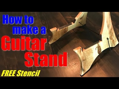 Woodworking: How to make a guitar stand