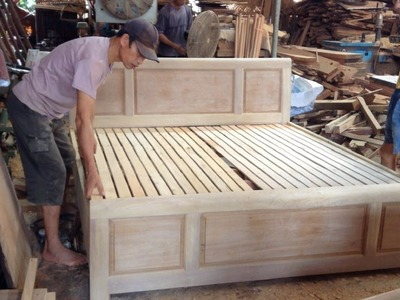 Amazing Woodworking: How To Building A Bed
