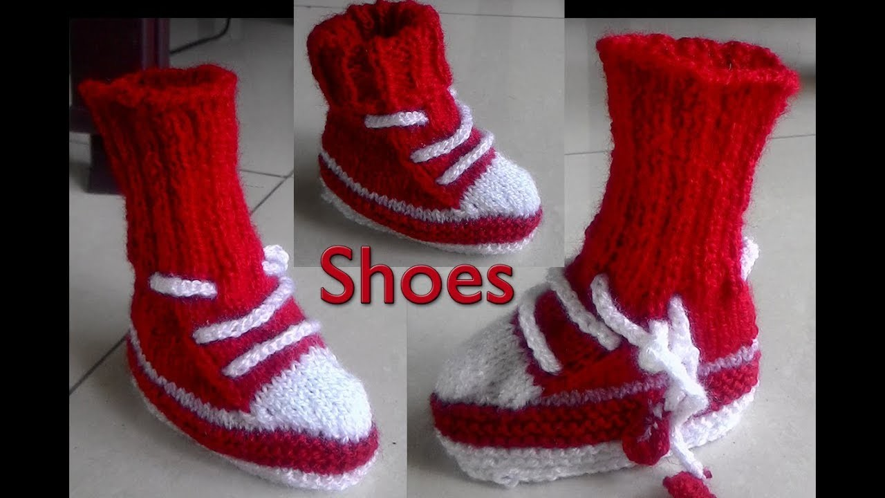 f35d36c08b7c How To Knit Baby Booties In Hindi