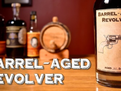 Barrel-Aged Revolver - How to Make the Whiskey Cocktail with Bourbon and Coffee Liqueur