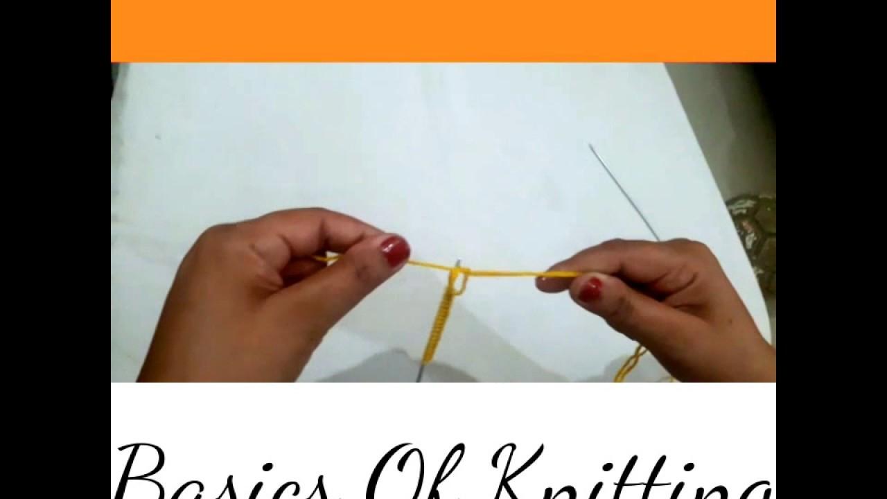 Basics Of Knitting For Beginners | Manisha Verma