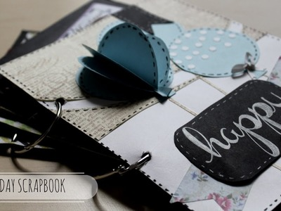 DIY: Cutest Birthday Scrapbook | Card Idea | Easy Card Idea | Handmade Card