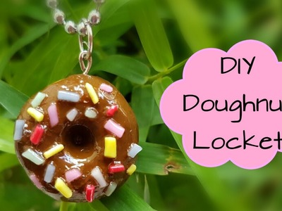 DIY Doughnut Locket.How to Make Locket.Friendship day gift Idea