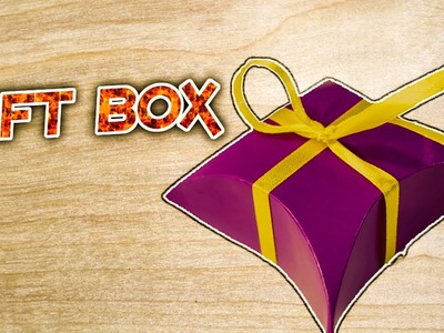 ✓ DIY Gift Box : How to make a Amazing Paper Gift Box || Easy Origami & DIY Crafts || RxFact ✓