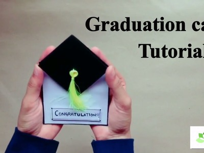 DIY Graduation Card | Graduation Card Tutorial | How to make a graduation card