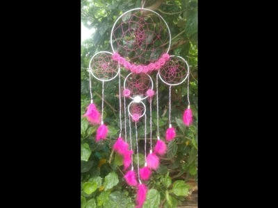 DIY- How to make Dreamcatcher in 10 mins.Step by Step guide.Handmade gift for brother and sister