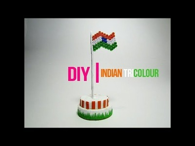 DIY : How to make Indian flag for 15th August ???????? | Independance day special