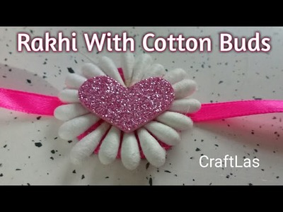 DIY Rakhi Making With Waste materials| How To | CraftLas