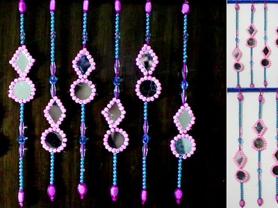 DIY Wall Decor Ideas | How To Make Door.Wall Hanging Decoration | How to make hanging door beads