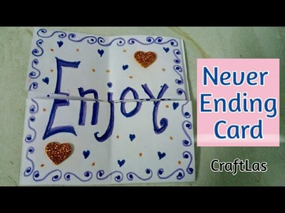 Easy Never Ending Card Tutorial | How To | CraftLas