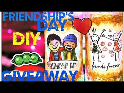 FRIENDSHIP DAY GIFT DIY UNDER Rs 100 | How to Make a Photo Bottle Lamp For Your Best Friend?