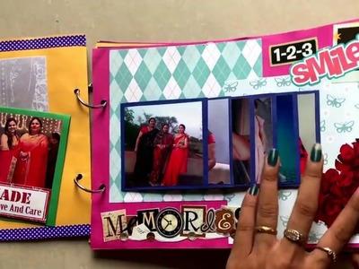 Happy birthday scrapbook for MOM || Rashi Jain || handmade cards by Rashi Jain