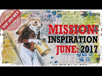 How to: Art Journal Page - Mission Inspiration - Magic