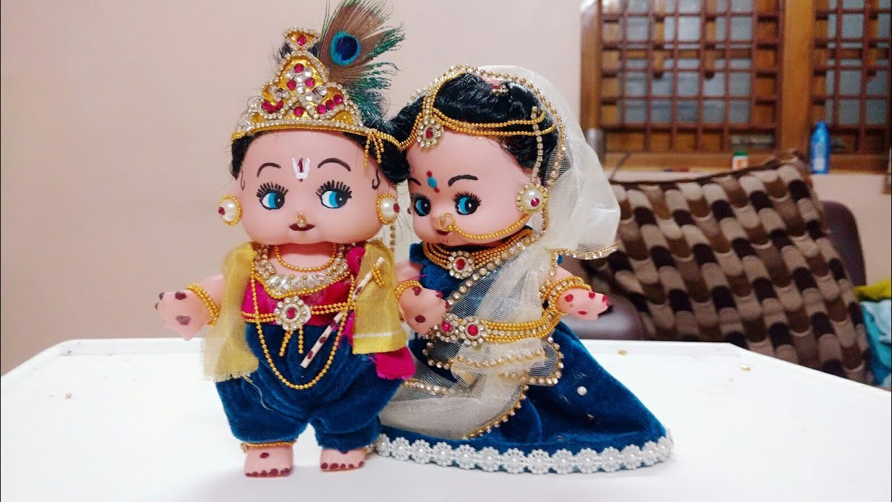 How to decorate Krishna for Krishna astami