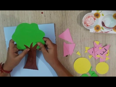 How to decorate scrapbook (symmetry)