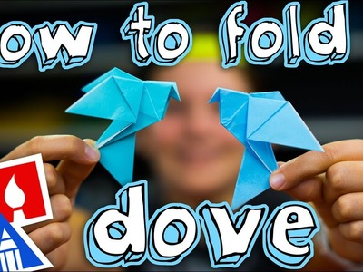 How To Fold An Origami Dove ????