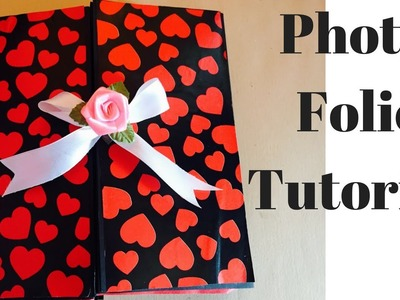 How to make a photo folio | Photo folio tutorial | photo album | scrapbooking tutorial
